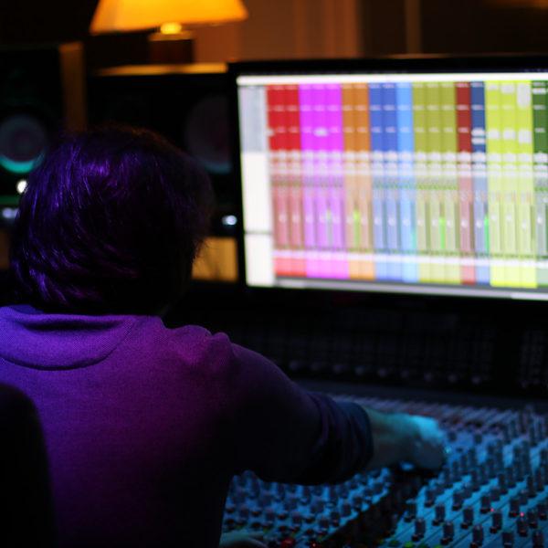 L'enregistrement studio